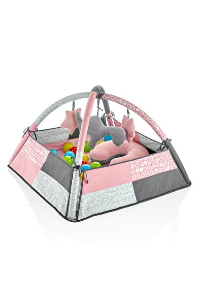 3 Fonksiyonlu Bebek Oyun Jimnastik Halısı