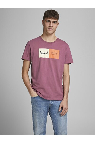 Erkek Bisiklet Yaka T-shirt 12185595 Jorjoshua