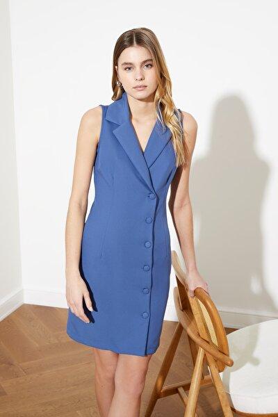 Indigo Ceket  Elbise TWOSS19AP0280