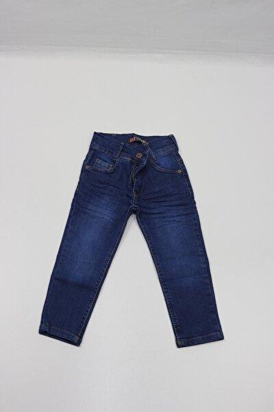 Erkek Çocuk Mavi Modelli Jeans