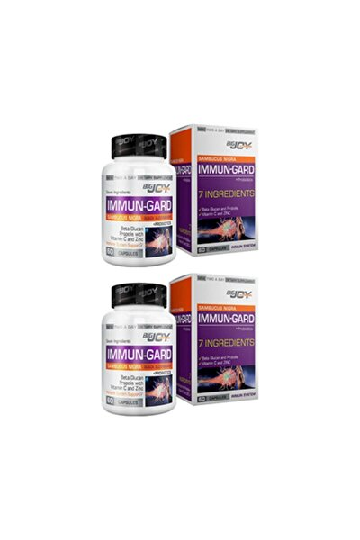 Vitamins Immun-gard 60 Kapsül 2 Kutu