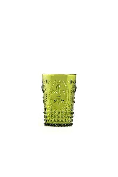 Akrilik Yeşil Kısa Bardak