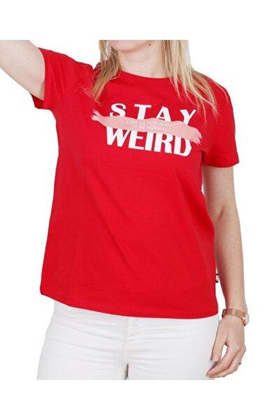 Stay Weırd Tee Kadın T Shirt 21.03.07.008