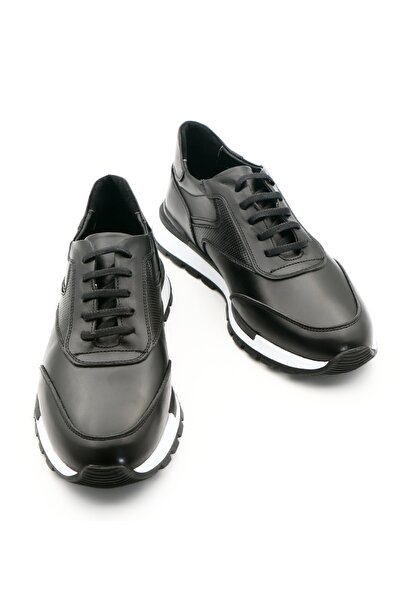 Hakiki Deri Casual Erkek Siyah Ayakkabı