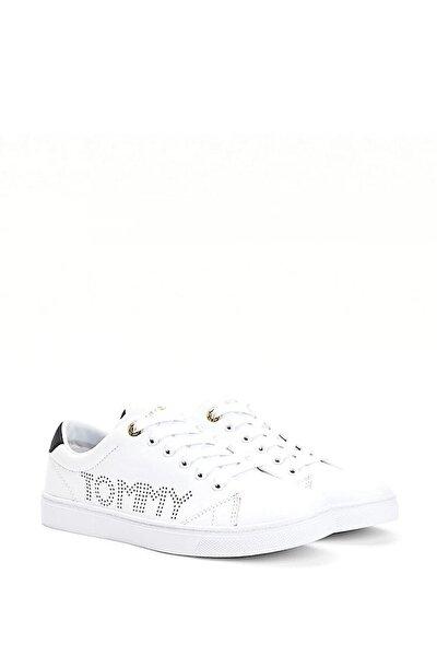 Kadın Beyaz Th Iconic Cupsole Sneaker Fw0fw05544
