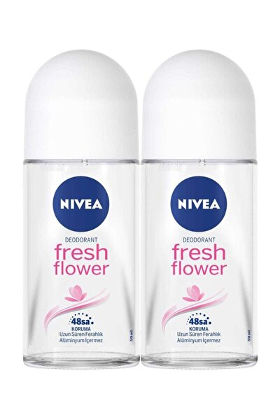 Kadın Roll On Deodorant Fresh Flower 50 ml -  2'li