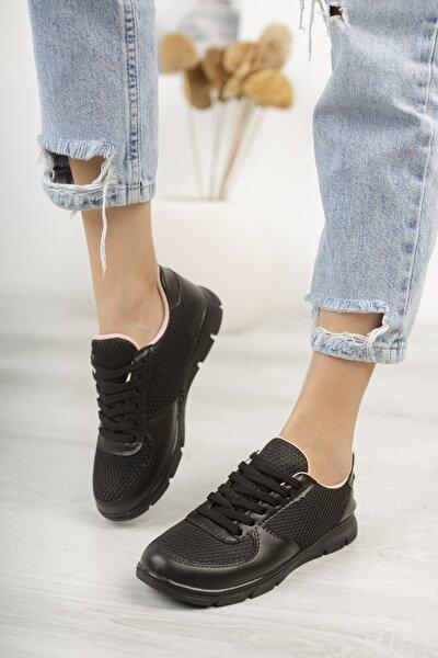 Spor Fileli Bağcıklı Ayakkabı