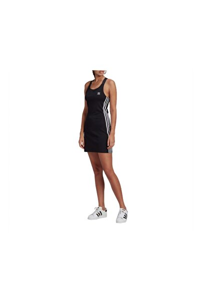 Racer B Dress Kadın Günlük Elbise Gn2878 Siyah