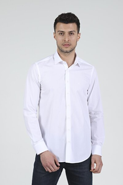 Slim Fit Uzun Kollu Erkek Gömlek 360-db02