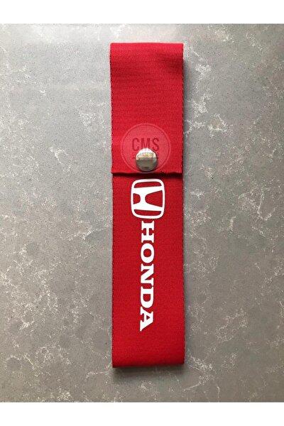 Honda Kırmızı Tampon Çeki Ipi - Honda Tampon Dili - Honda Çeki