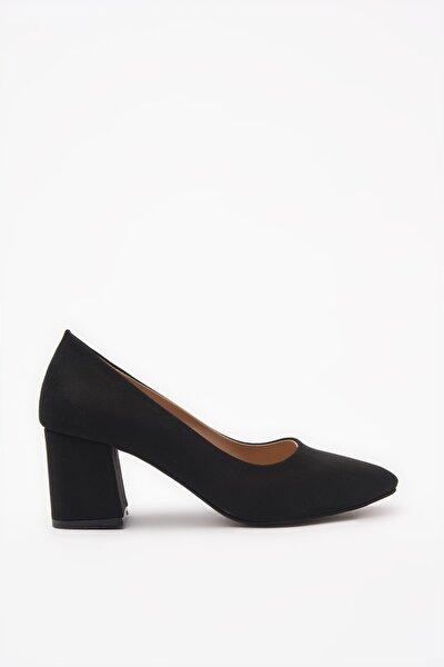 Siyah Kadın Klasik Topuklu Ayakkabı 01AYY206440A100