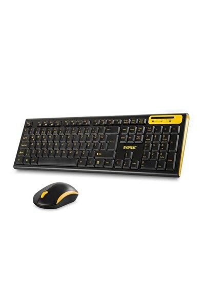 Km-5535 Usb Multi Media Kablosuz Q Standart Klavye + Mous