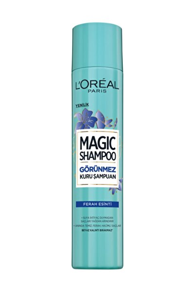 Magic Shampoo Görünmez Kuru Şampuan 200ml -Ferah Esinti 3600523606641
