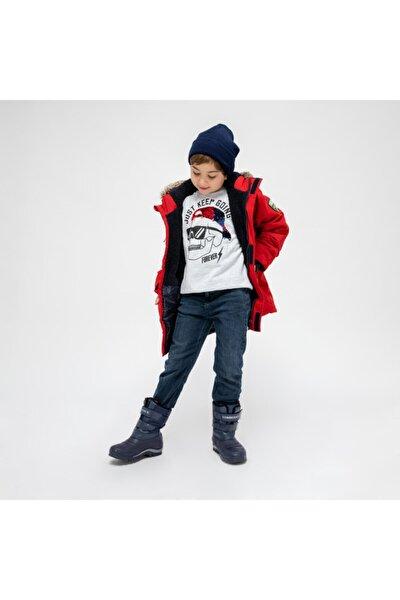 SNOWY 9PR Lacivert Erkek Çocuk Kar Botu 100445789