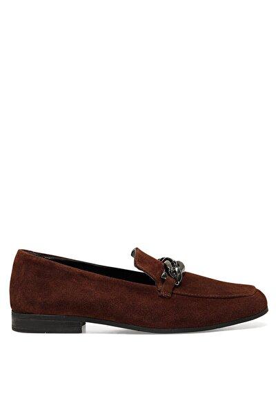 SEMLA Kiremit Kadın Loafer Ayakkabı 100582100