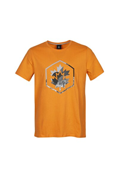 CT636 COLORED LOGO T-SHIR Turuncu Erkek T-Shirt 101028326