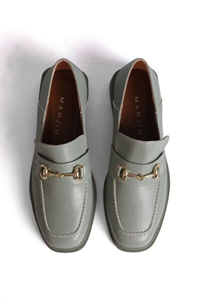 Kadın Yeşil Loafer Ayakkabı Races