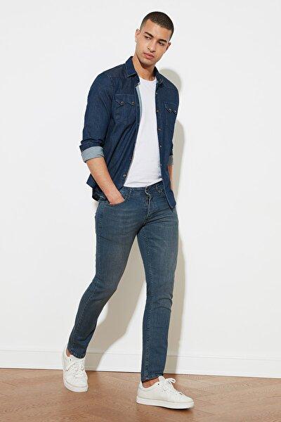 Indigo Erkek Denim Skinny Jeans TMNAW20JE0407
