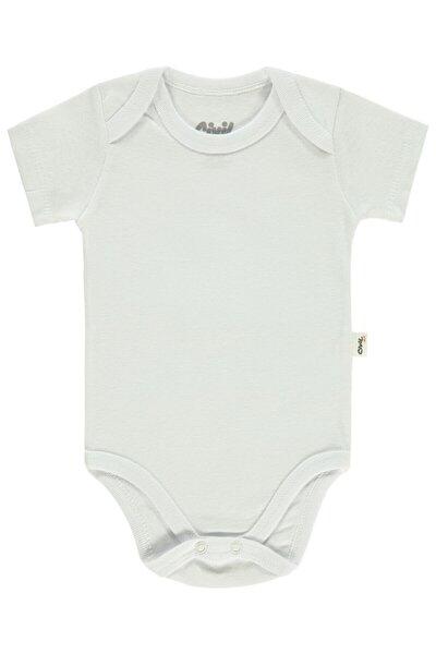 Bebek Çıtçıtlı Badi 0-24 Ay Ekru