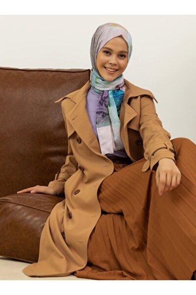 Kadın Çok Renkli Casual Şal 551058