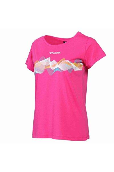 Kadın Pembe Kısa Kollu Tişört