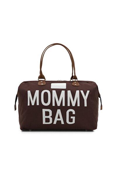 Kadın Kahve Mommy Bag Anne Bebek Bakım Çantası