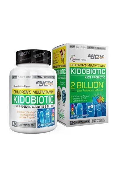 Kidobiotic Kids Probiotic 60 Çiğneme Tablet