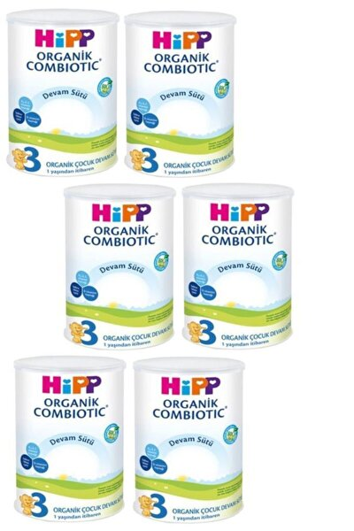 Organik Combiotic Devam Sütü 3 Numara 350 gr x 6 Adet