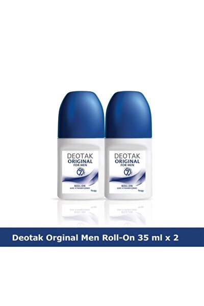 Orıgınal For Men Roll-on Deodorant 35 Ml X 2