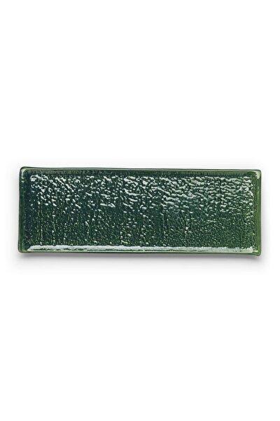 Intense Düz Kayık Tabak -34cm-1 Prç.-yeşil