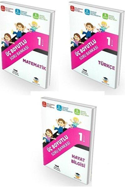 1. Sınıf Tüm Dersler Üç Boyutlu Soru Bankası Seti