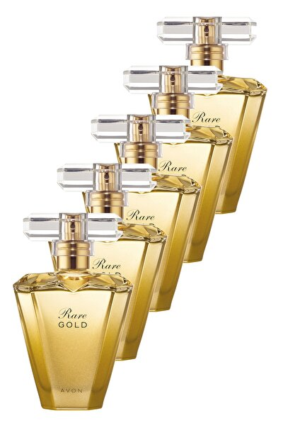 Rare Gold Kadın Parfüm Edp 50 ml 5'li Set 5050000101790