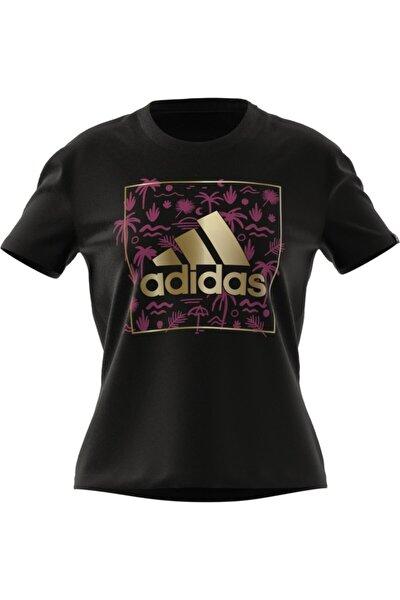 W Foıl Bos G T Black Spor T-Shirt