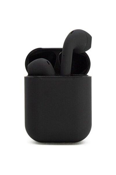 Airpods  I12 Siyah Tüm Telefonlar İle Uyumlu Bluetooth Kulaklık