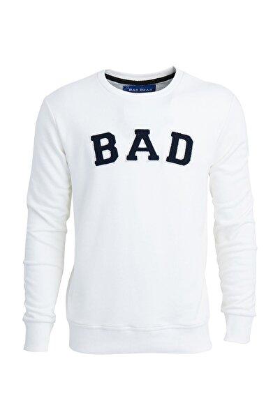 Beyaz Erkek Sweatshırt Bad Convex Off-whıte