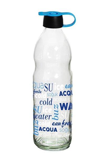 1 Lt Aqua Desenli Boğumlu Su Şişesi