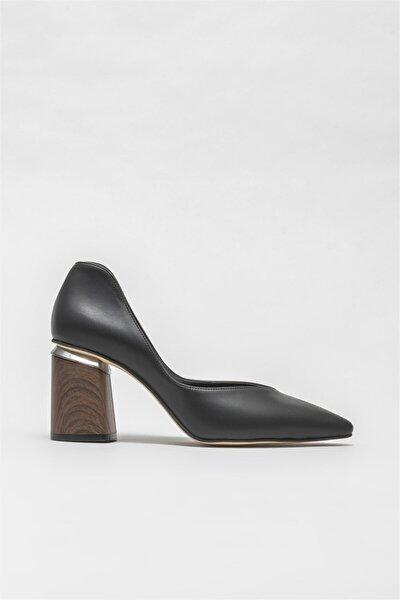 Kadın Siyah Topuklu Ayakkabı