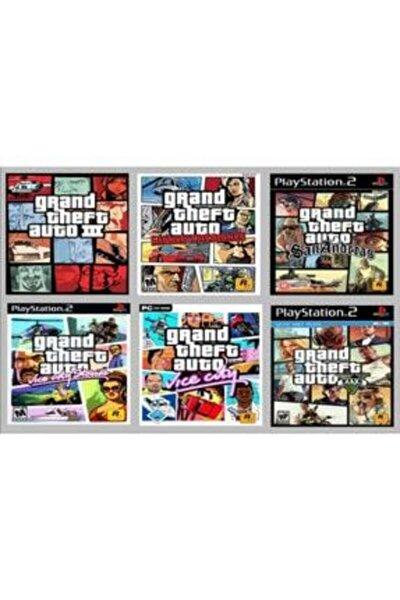 Playstatıon 2 - Gta Serisi 6 Oyunluk Set
