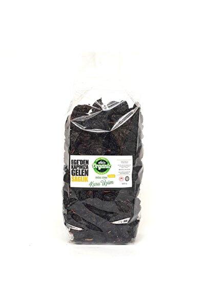 Organik Bağ Siyah Çekirdekli Kuru Üzüm 500 Gram