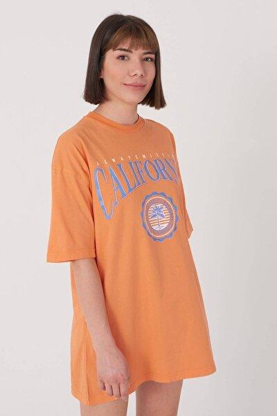 Baskılı Oversize T-shirt P1016 - S9