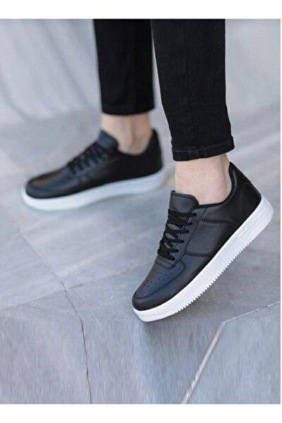 Unisex Siyah/beyaz Spor Ayakkabı