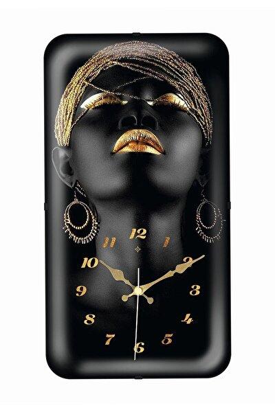 Duvar Saati Dik Küpeli Kadın 9011357