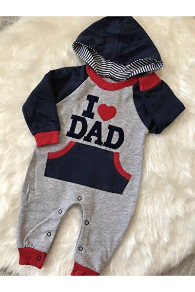 Erkek Bebek Gri Tulum