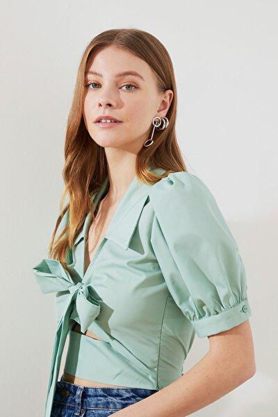 Mint Bağlama Detaylı Bluz TWOSS20BZ0717