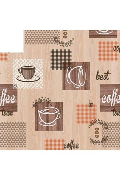 Kahve Desenli Masa Örtüsü