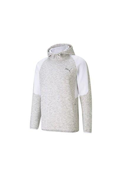 Erkek Günlük Sweatshirts 58580902 Gri Evostripe Hoodie