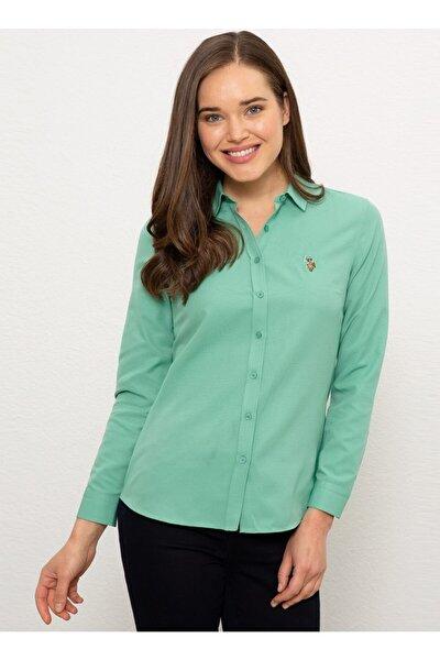 Kadın Yeşil Gömlek