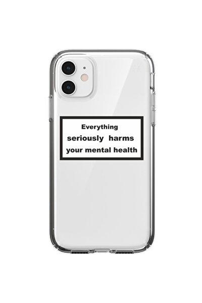 Yazılı Tasarım Görseli Iphone 11 Telefon Kılıfı