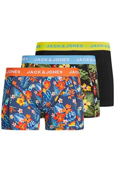 Jack Jones Crezy 3 Lü Paket Erkek Boxer