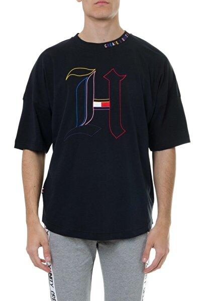 Erkek Siyah Lewis Hamilton Owersize Geniş Kesim Tshirt